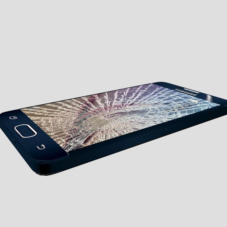 삼성 S6 금이 화면 royalty-free 3d model - Preview no. 5