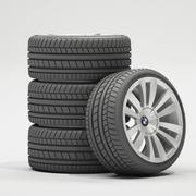 Car Wheels 3d model