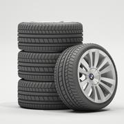 Car Wheels 3d model