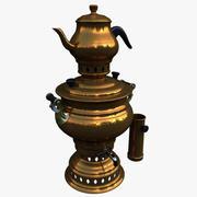 茶壶茶炊 3d model
