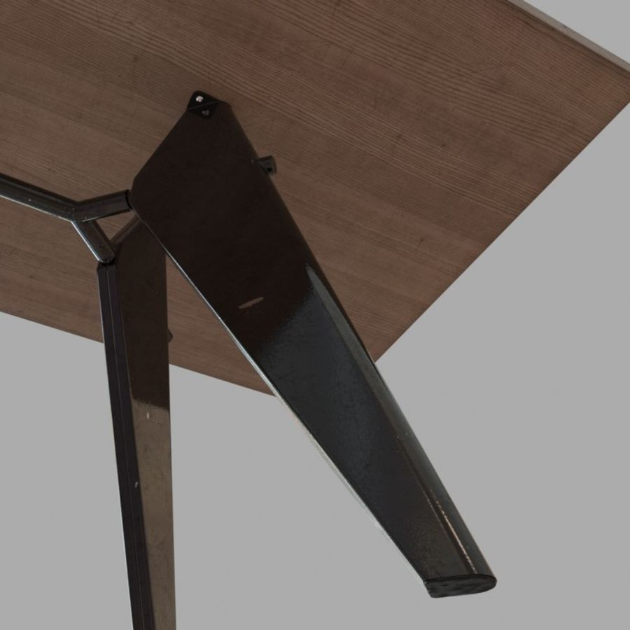 Em Table royalty-free 3d model - Preview no. 6