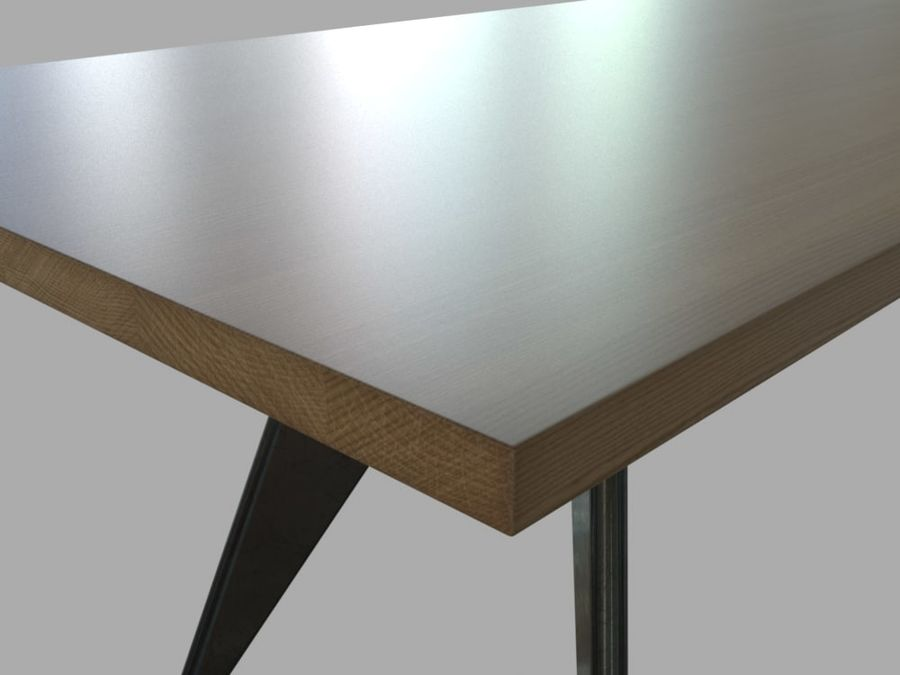 Em Table royalty-free 3d model - Preview no. 11