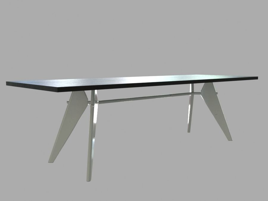 Em Table royalty-free 3d model - Preview no. 13