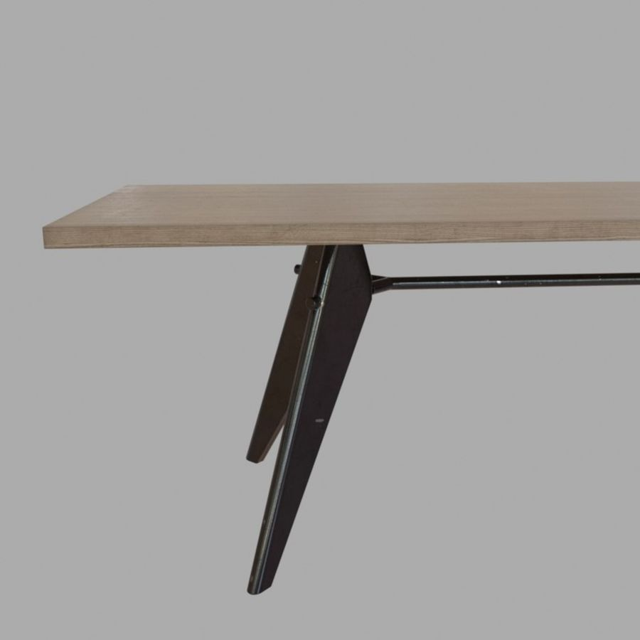 Em Table royalty-free 3d model - Preview no. 8
