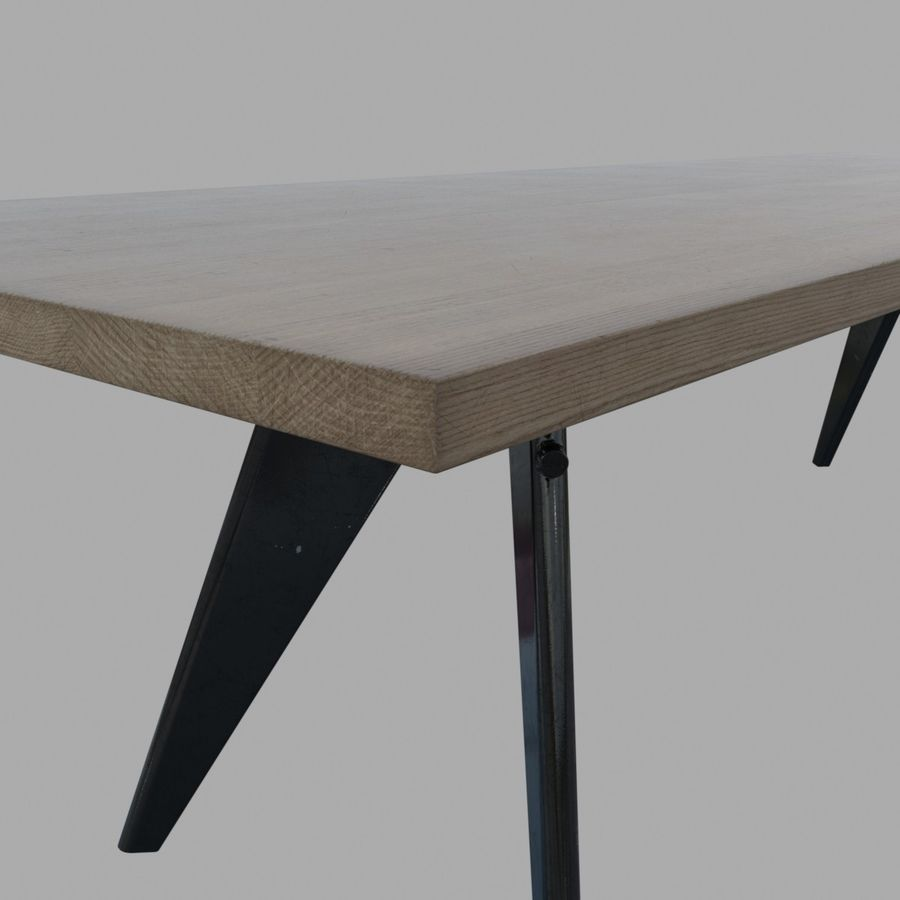 Em Table royalty-free 3d model - Preview no. 4
