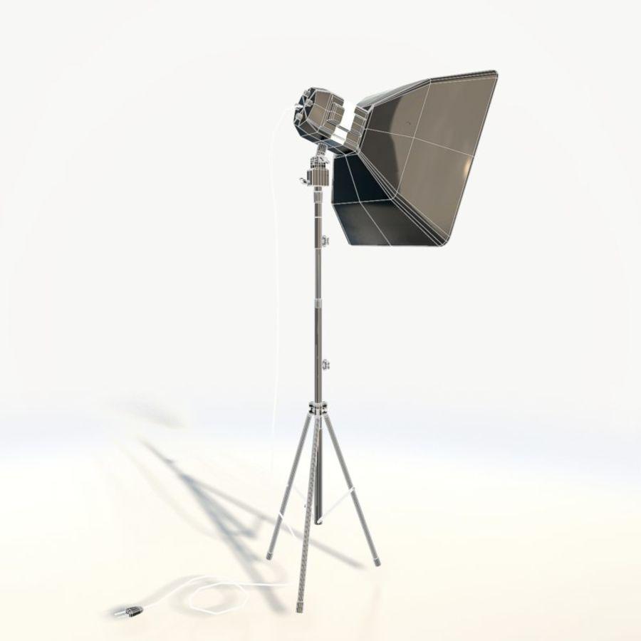 Lampada da studio professionale softbox light royalty-free 3d model - Preview no. 5