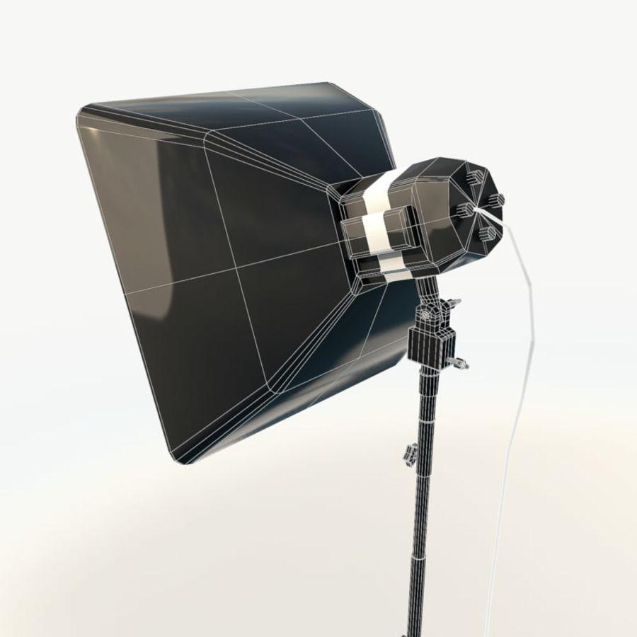 Lampada da studio professionale softbox light royalty-free 3d model - Preview no. 9