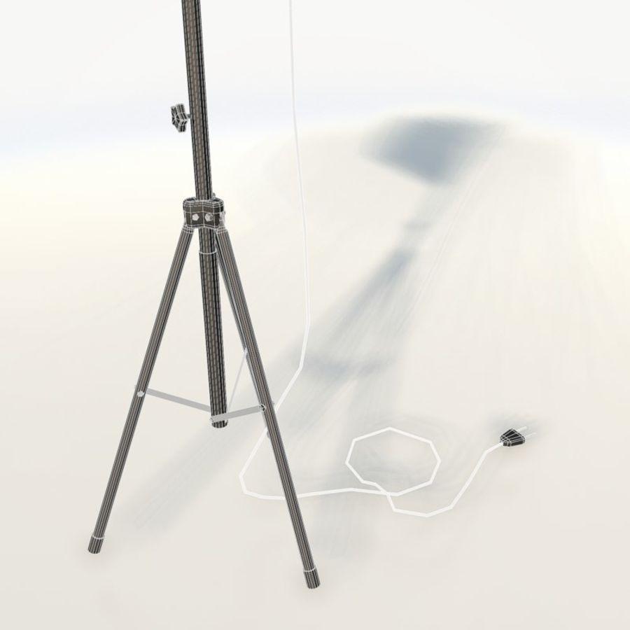 Lampada da studio professionale softbox light royalty-free 3d model - Preview no. 11
