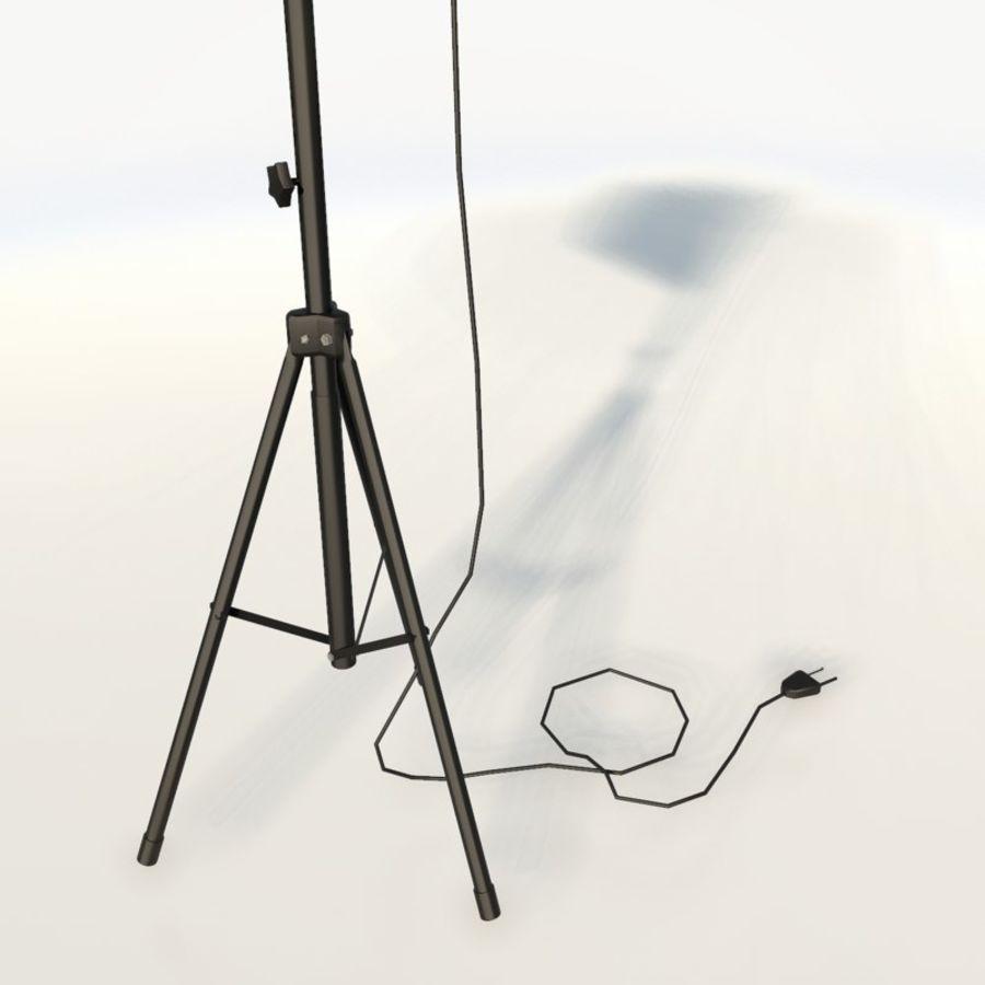 Lampada da studio professionale softbox light royalty-free 3d model - Preview no. 10