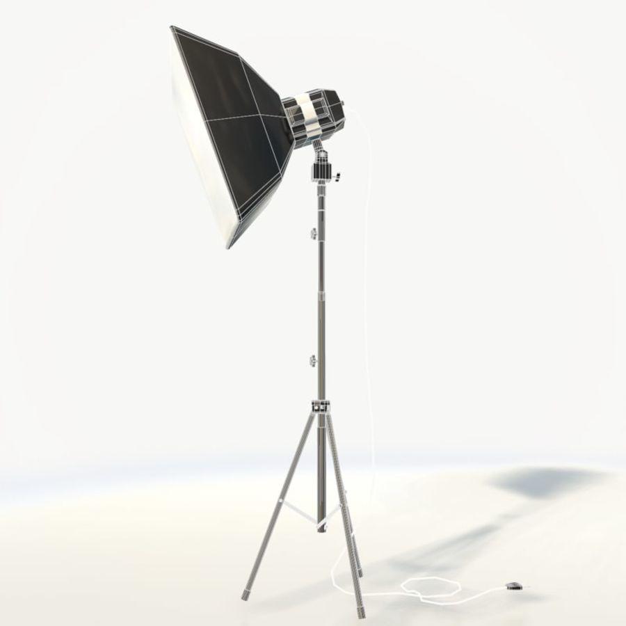 Lampada da studio professionale softbox light royalty-free 3d model - Preview no. 7