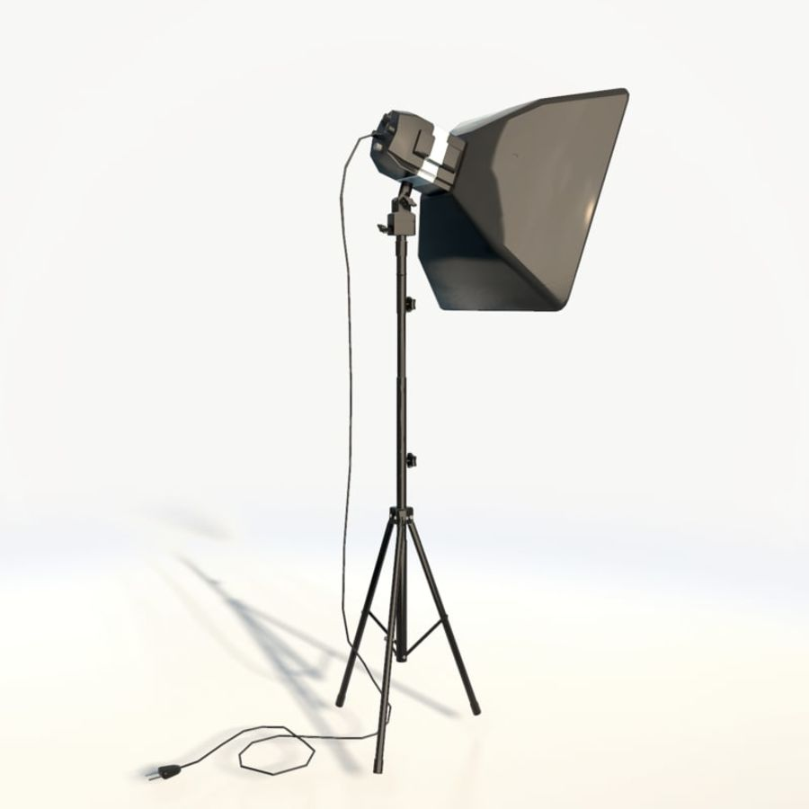 Lampada da studio professionale softbox light royalty-free 3d model - Preview no. 4