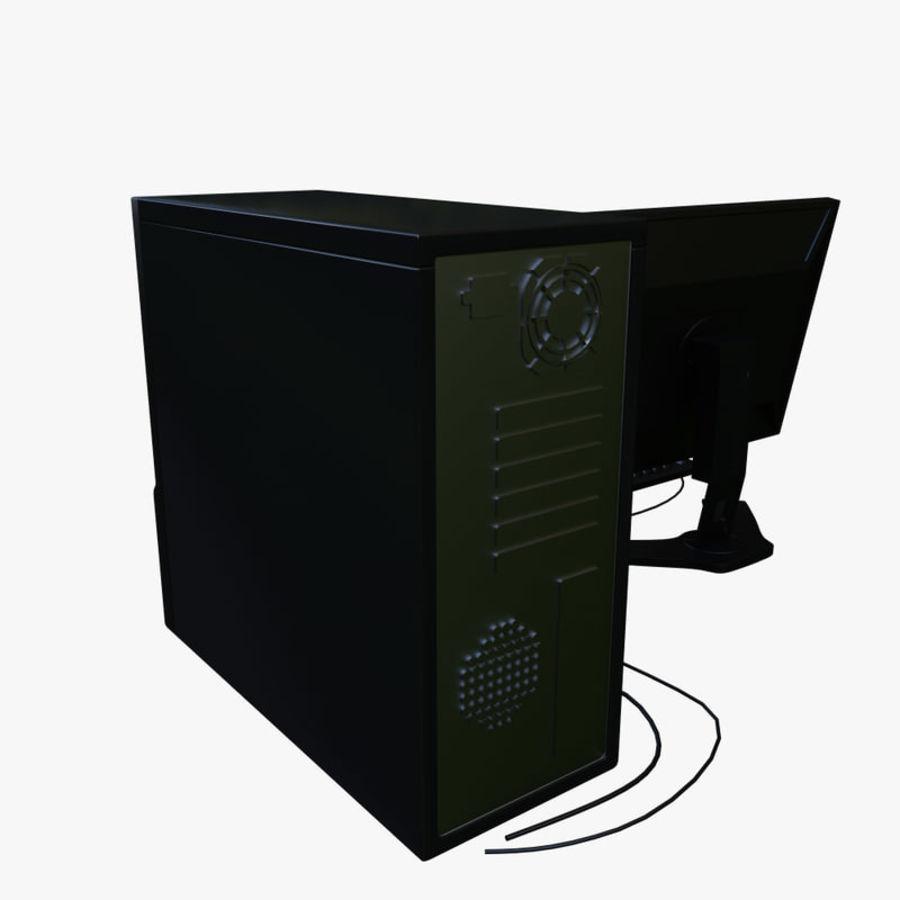 デスクトップコンピューター royalty-free 3d model - Preview no. 4