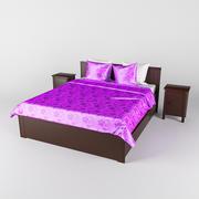 Bed IKEA BRUSALI 3d model