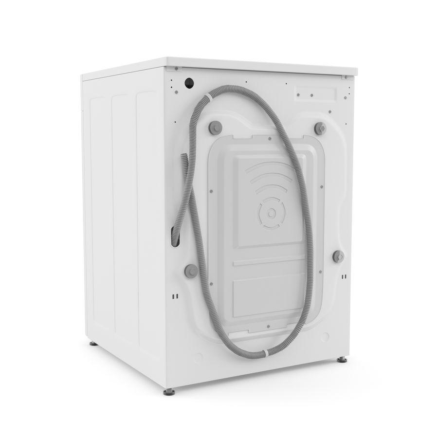 Çamaşır makinesi LG F14U1JBS2 royalty-free 3d model - Preview no. 3