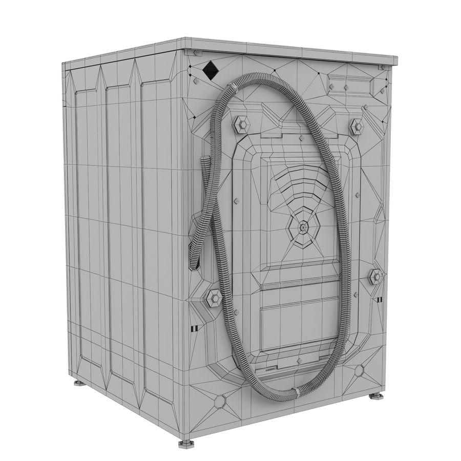 Çamaşır makinesi LG F14U1JBS2 royalty-free 3d model - Preview no. 5