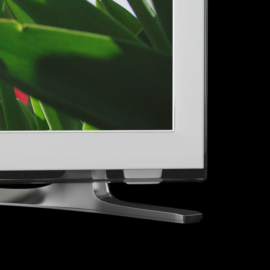 TV Samsung UE22H5610AW royalty-free 3d model - Preview no. 4