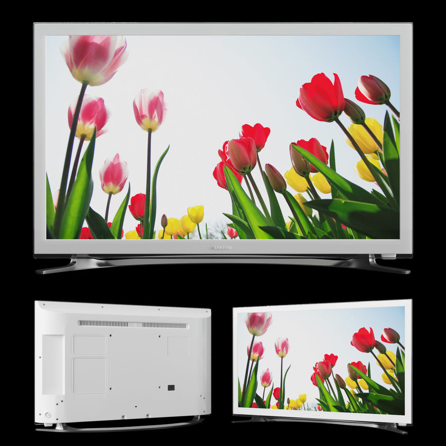 TV Samsung UE22H5610AW royalty-free 3d model - Preview no. 1