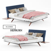 BED de la espada hepburn 3d model