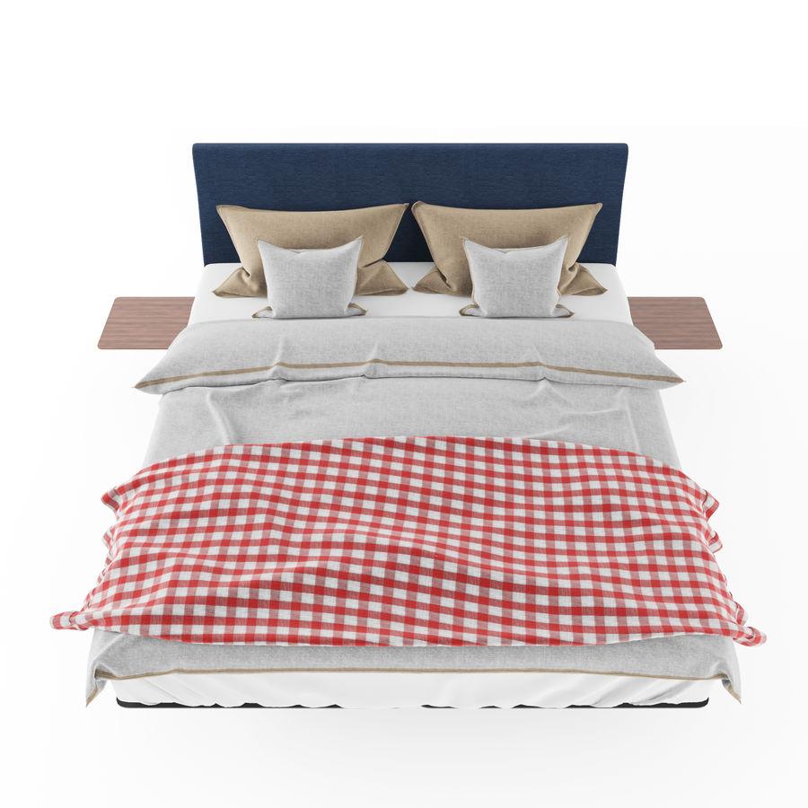 BED de la espada hepburn royalty-free 3d model - Preview no. 4