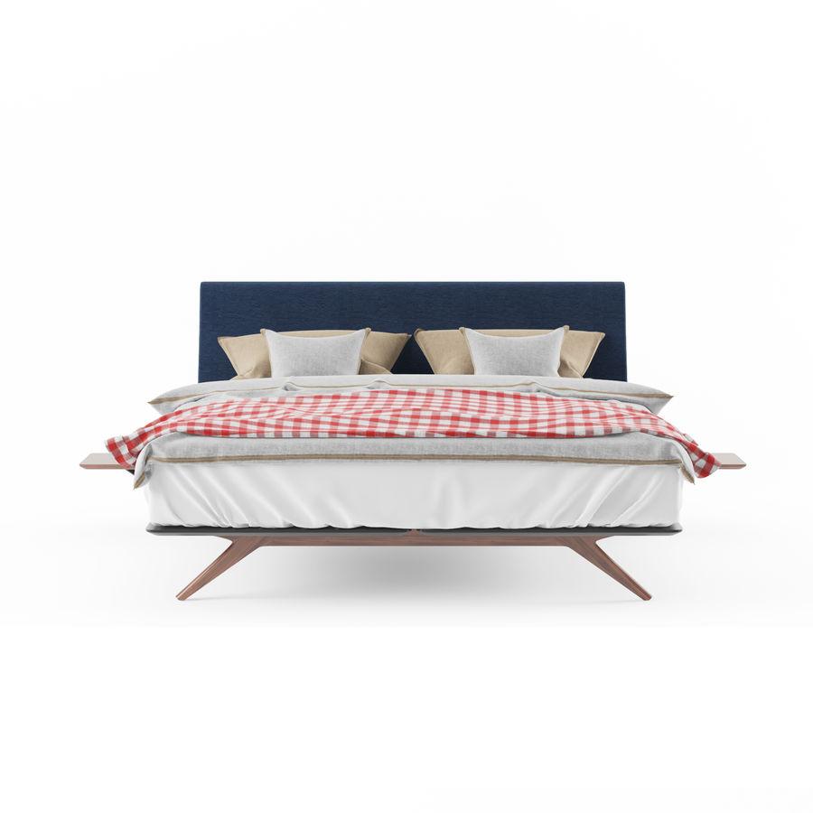 BED de la espada hepburn royalty-free 3d model - Preview no. 2
