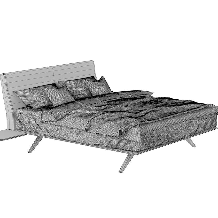BED de la espada hepburn royalty-free 3d model - Preview no. 5