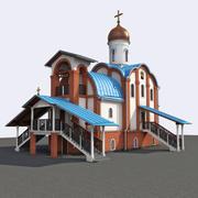 教会 3d model