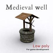 Średniowieczna Studnia 3d model