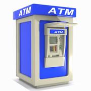 Cartoon ATM Machine 2 3d model