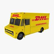 DHL Truck 3d model