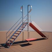 Slide de tesoura 3d model
