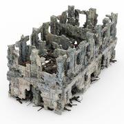 破坏建筑物 3d model