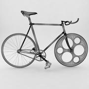 Naprawiono bieg / prędkość pojedynczą / rower 3d model