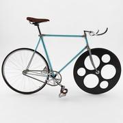 固定档/单速/自行车 3d model