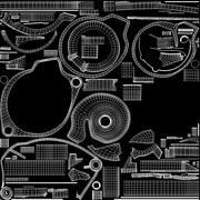 насос 3d model