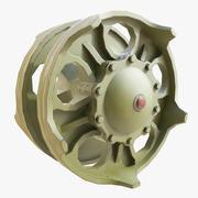 T90 Wheel 01 3d model