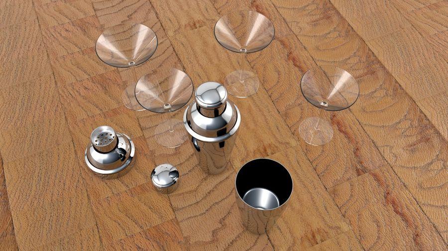 Shaker & Gläser royalty-free 3d model - Preview no. 4