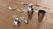 Shaker & Gläser 3d model