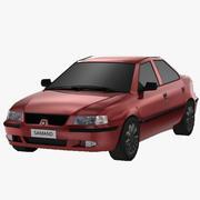 サマンド-6651ポリゴン-Game Ready 3d model