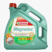 Castrol Magnatec Oil 01 3d model