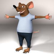 Ratón modelo 3d
