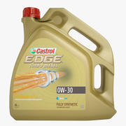 CASTROL EDGE TURBO DIESEL 0W-30 3d model