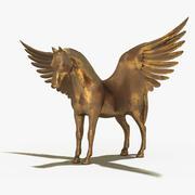 Pegasus skulptur 3d model