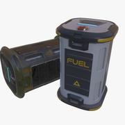 科幻箱子桶容器 3d model