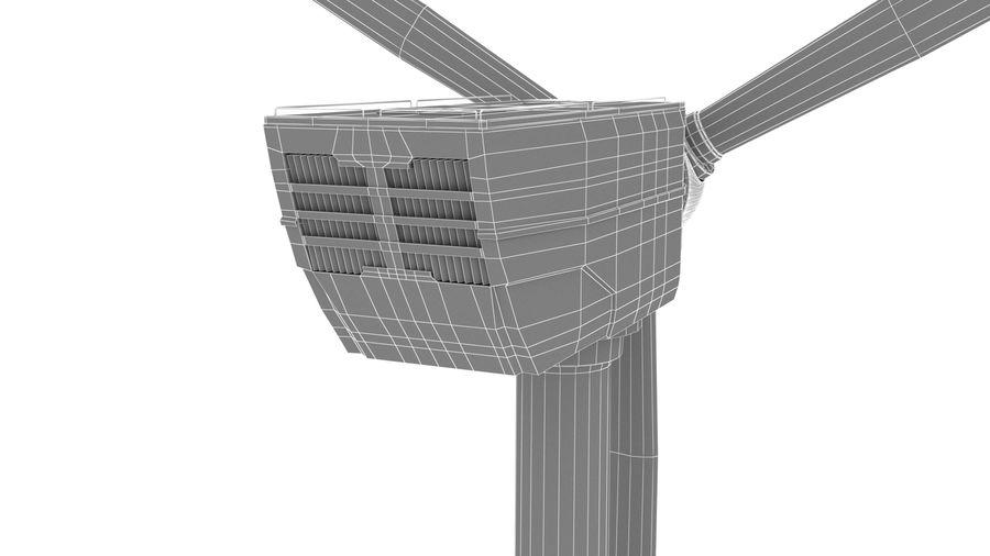 Vindturbin royalty-free 3d model - Preview no. 10