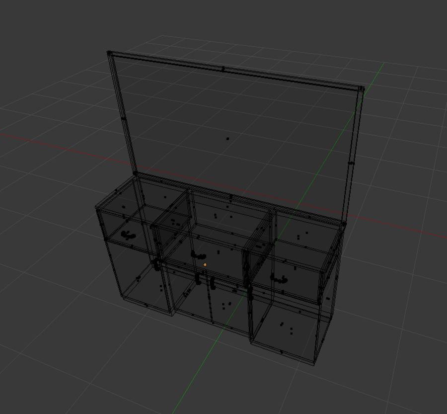 내각 royalty-free 3d model - Preview no. 4