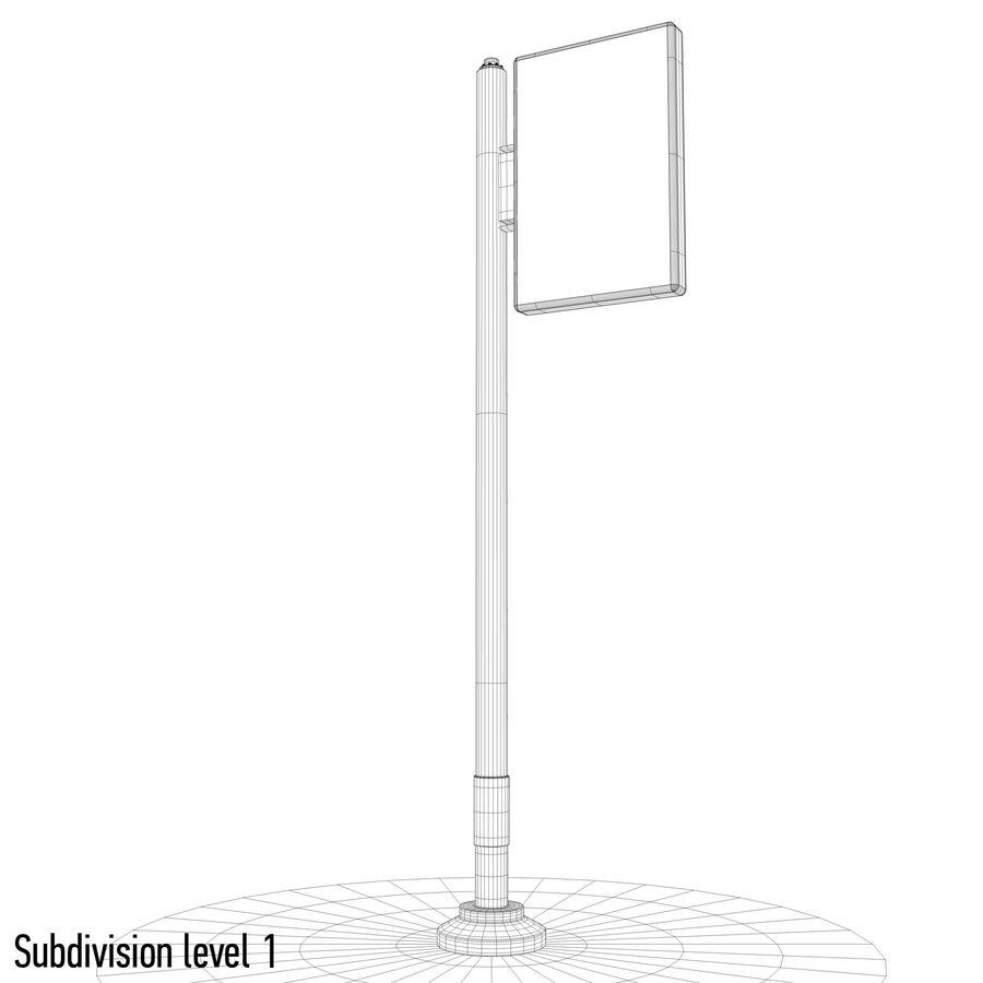 Reklama uliczna royalty-free 3d model - Preview no. 10