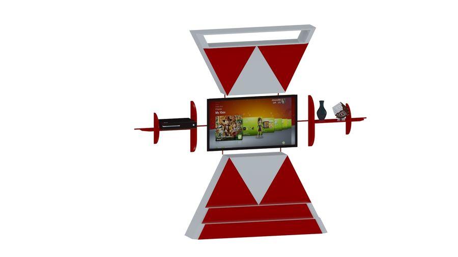 Möbler för vardagsrum royalty-free 3d model - Preview no. 2
