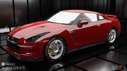 Nissan Skyline GTR R35 3d model
