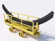 mine cart 3d model
