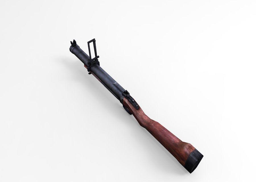 gun royalty-free 3d model - Preview no. 11
